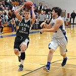 EC Cory Strasko goes to hoop past Midview Steven Gott Dec. 11. Steve Manheim