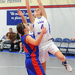 Open Door Alexis Werley is fouled shooting over First Baptist Sam Iler Dec. 20.  Steve Manheim