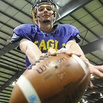 Avon QB David Zeh at Rival Sports Fieldhouse in Lorain on Oct. 30.  Steve Manheim