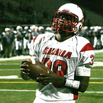 Elyria's #38 Keon Nealy into the endzone.