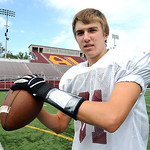 Jimmy Hessel, Avon Lake wide receiver on Sep. 20.   Steve Manheim