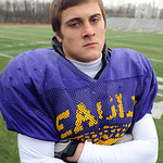 Avon senior linebacker Kevin Skotko on Nov. 13.   Steve Manheim