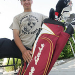 Avon Lake's Brendan Aussem, top local high school golfer, won't go on to college, but to the US Marines.    photo by Chuck Humel