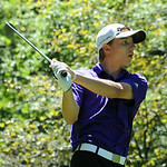 Avon's Ryan Sikora tees off.  STEVE MANHEIM/CHRONICLE