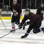 Jake Schneider of Midview moves down ice in the  GCHSHL All-Star game at Quicken Loans Arena on Mar. 7.   Steve Manheim
