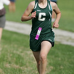 Cloverleaf runner Anna Winnicki places 4th as her team wins 1st place victory in the PAC Icebreaker CC meet at Carlisle Reservation. photo by Ray Riedel