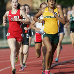 Alexis Szivan places 7th in the 800m run at the OHSAA state championship. photo by Ray Riedel