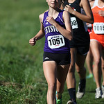 12Oct13_Keystone's Beth Plas near mile 1 of the PAC championship. photo by Ray Riedel