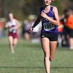 12Oct13_Keystone sophomore Beth Plas finishes 5th at the PAC championship. photo by Ray Riedel