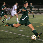 Keely Birsic of EC midfield against Rocky River.  photo by Chuck Humel