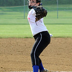 Sarah Kaya of Clearview pitches during the All-Star Game. STEVE MANHEIM/CHRONICLE