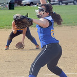 Clearview's Sarah Kaya pitches May 8. Steve Manheim