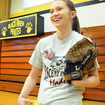 Dagmar Smith of Black River softball on Mar. 20.  Steve Manheim