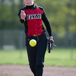 Elyria pitcher Caitlyn Minney against Medina.