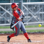 Elyria's Patty Davis bats in the top of the 4th inning against Medina.