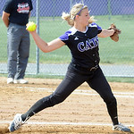Keystone pitcher Emily Cornish May 22. Steve Manheim