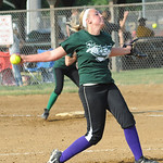 Green team All-Star pitcher Jessica Tucker June 11. Steve Manheim
