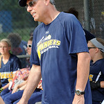 Norm Frindt, North Ridgeville softball coach on May 9.  Steve Manheim