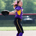 Avon's Anna Edwards winds up to pitch against Elyria in the bottom of the second inning. ANNA NORRIS/CHRONICLE