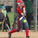 Elyria's Alex Dick gets a hit in the fourth inning. CHRISTY LEGEZA/CHRONICLE