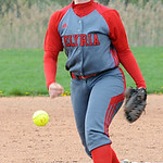 Elyria's Elizabeth Ellis pitches against Medina. STEVE MANHEIM/CHRONICLE