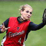 Firelands center fielder Cassidi Kowalski makes a catch in deep center. AARON JOSEFCZYK / CHRONICLE