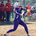Keystone's Alexis Marquis comes in to bat. CHRISTY LEGEZA/CHRONICLE