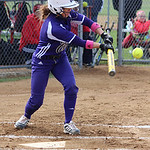 Keystone's Morgan McNulty lays down a bunt. CHRISTY LEGEZA/CHRONICLE