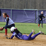 Keystone's Summer Constable slides safely into second. CHRISTY LEGEZA/CHRONICLE