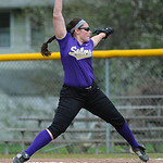 Becca Oates pitches again Westlake. KRISTIN BAUER/CHRONICLE