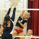 Brookside 4 Tyller Holley slams hits over Buckeye Megan Mercurio Sep. 13.  Steve Manheim