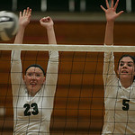 EC's Maryssa Kellick and Abbey Flowers.   photo by Chuck Humel.