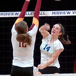 Midview vs. Avon Lake volleyball.