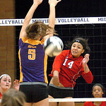 Elyria vs. Avon volleyball.