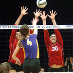 Avon vs. Elyria volleyball.
