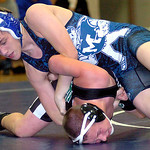 Midview&#039;s Tony Lupico works on EC&#039;s P.J. Hruby.