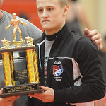 Sebastian Vidika of Black River 2014 Wrestler of the Year. Steve Manheim