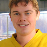 Connor Morris on Amherst was SWC player of the year ilast season, at North Park ice rink on Nov. 29.  Steve Manheim