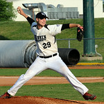 Ironmen's Ben Standiford pitches. STEVE MANHEIM/CHRONICLE