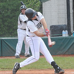 Ironmen Zack Ratcliffe hits a grand slam homer in first inn. May 28.  Steve Manheim