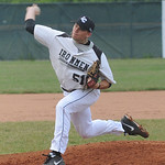 Ironmen Cakeb Schillace pitches May 28. steve Manheim