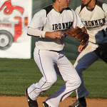 Cody Semler throws to first. AMANDA K. RUNDLE/CHRONICLE