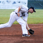 Ironmen's short stop Billy Salem fields a ground ball. KRISTIN BAUER | CHRONICLE