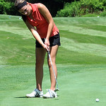 Corynn Krieg of Avon Lake in Ohio Girls GOlf Foundation Open at Avon Oaks Country Club July 15.  Steve Manheim