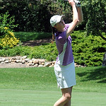 Kaitlin Neumann of Avon in Ohio Girls Golf Foundation Open at Avon Oaks Country Club July 15.  Steve Manheim