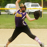 Avon's Jessica Novak pitches. AMANDA K. RUNDLE/CHRONICLE