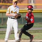 Hayden Lowstetter of Elyria West is safe at 2nd base.