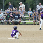 Keystone's Avery Blankenship is safe at second base. RAY RIEDEL/CHRONICLE