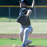 Grafton's Johnny Jocke pitches against Sheffield. KRISTIN BAUER | CHRONICLE