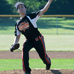 Sheffield's Brad Hughes pitches against Grafton. KRISTIN BAUER | CHRONICLE